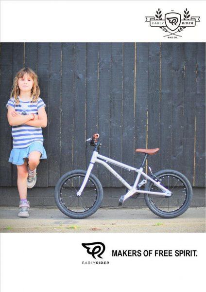 Early Rider bij stip-kinderfietsen. Early Rider Belter, lichtgewicht kinderfiets 16 inch 5,65 kg, leichtes Kinderfahrrad, magasin de vélo pour enfants, kinderfietsenwinkel, Fahrradladen für Kinder
