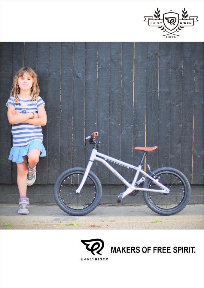 Early Rider Belter lichtgewicht kinderfiets 16 inch 5,65 kg, leichtes Kinderfahrrad, aluminium kinderfiets.