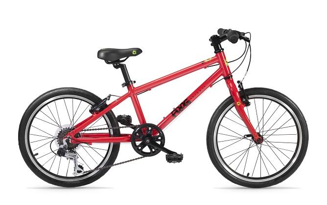 FFrog bikes 55 rood bij Stip-kinderfietsen.nl in Nijmegen