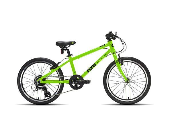 Frog bike 55 groen 20 inch, frog bikes bij stip-kinderfietsen, lichtgewicht kinderfiets, Frog bikes Deutschland, Frogbikes Nederland, Frogbikes dealer, Frog bikes kinderfietsen, Frog bikes tweedehands, Frog bikes Belgium.