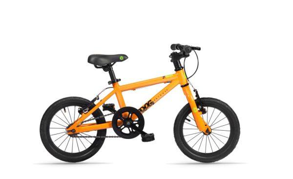 Frog bikes 44 Oranje 14 inch bij Stip-kinderfietsen.nl in Nijmegen