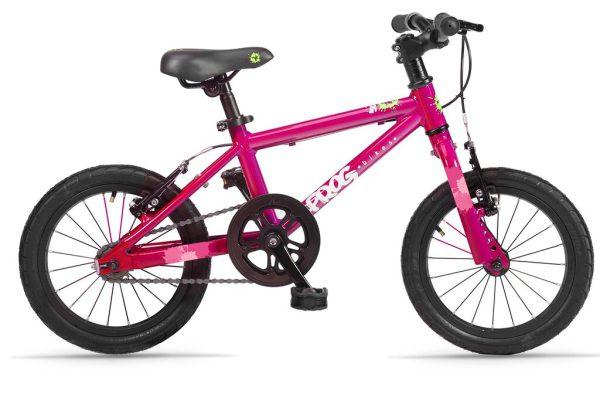 Frog bikes 44 roze bij Stip-kinderfietsen in Nijmegen