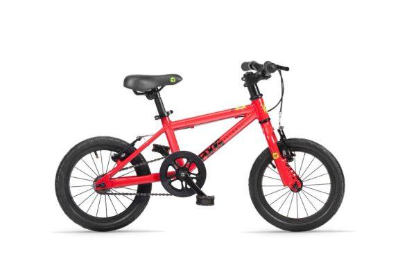 Frog bikes 40 rood bij Stip-kinderfietsen