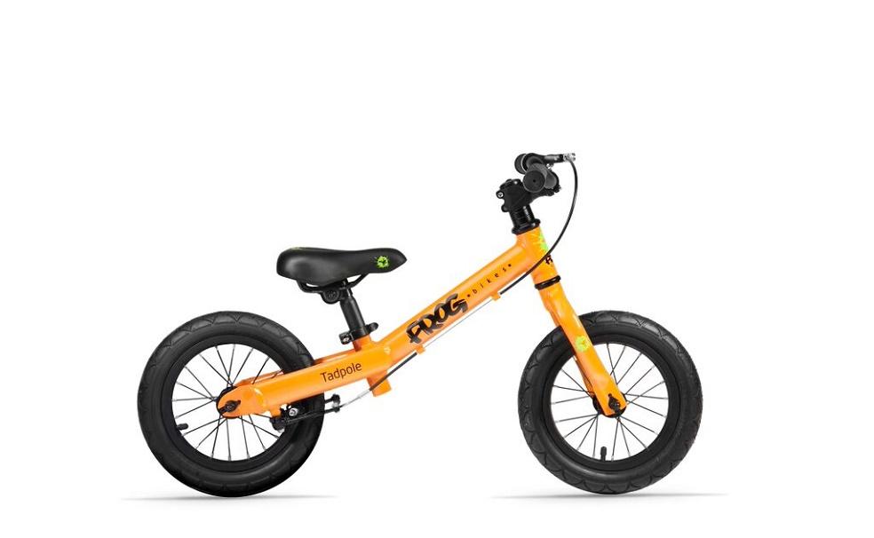 Frog bikes 34 loopfiets 12 inch oranje 4,1kg, Frog bikes bij Stip-kinderfietsen, Frog bikes in Nijmegen, lichtgewicht kinderfiets bij Stip-kinderfietsen, kinderfiets, lichtgewicht kinderfiets, de beste kinderfiets , loopfiets vanaf 2 jaar