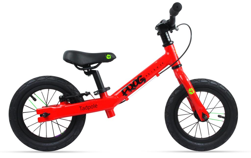 Frog bikes loopfiets rood bij Stip-kinderfietsen
