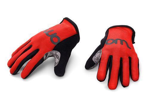 Woom handschoenen rood