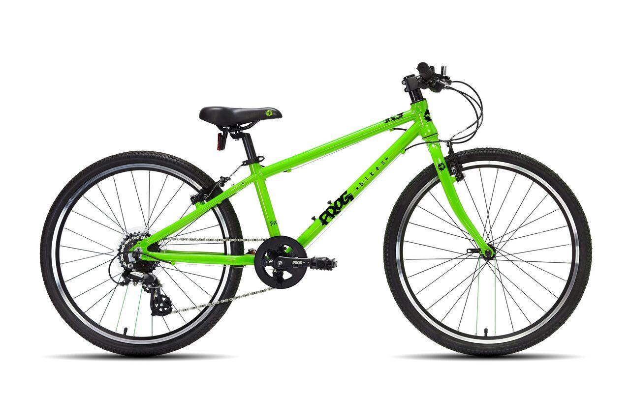 Frog bike 52 lichtgewicht kinderfiets 20 inch 5-6 jaar groen , Frog bike 20 inch bij stip-kinderfietsen, jongensfiets 5 jaar, jongensfiets 6 jaar, meisjesfiets 5 jaar, meisjesfiets 6 jaar bij Stip-kinderfietsen, de beste kinderfiets