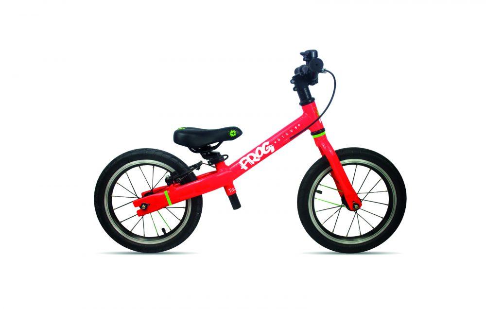 Frog bikes loopfiets 14 inch rood 4,1 kg. kinderfiets, lichtgewicht kinderfiets, Frogbikes Nederland, Frogbikes dealer, Frog bikes kinderfietsen, Frog bikes tweedehands, Frogbikes.be, frogbikes.de