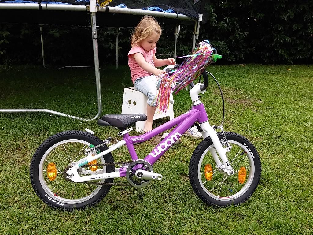 Le meilleur vélo pour enfants est un vélo léger.