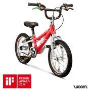 Woom bikes winnaar iF Design Award 2017, WoomBikes, lichtgewicht kinderfiets