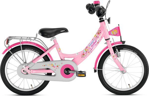 Puky ZL 16 inch Alu lichtgewicht meisjesfiets roze, magasin de vélo pour enfants, kinderfietsenwinkel, Fahrradladen für Kinder, Puky bij Stip-kinderfietsen