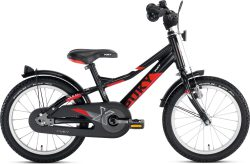 Puky ZLX 16 inch Alu zwart, Puky ZLX 18-3 ALU 9,9kg lichtgewicht kinderfiets, magasin de vélo pour enfants, kinderfietsenwinkel, Fahrradladen für Kinder, Puky bij Stip-kinderfietsen