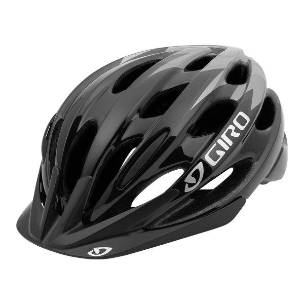 Giro Helm Raze Zwart 50-57cm, fietshelm bij Stip-kinderfietsen, Kinderhelm fiets