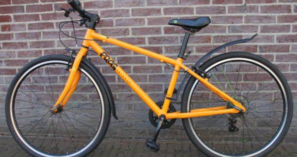 Test fietsersbond van de Frog bike 69. frogbikes.de, frogbikes.be, aluminium kinderfiets., magasin de vélo pour enfants, kinderfietsenwinkel, Fahrradladen für Kinder, frogbikes bij Stip-kinderfietsen
