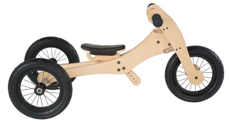 Trybike houten loopfiets 4 in 1, lichtgewicht kinderfiets, Trybike Belgie, Trybike Deutschland, lichtgewicht kinderfiets bij stipkinderfietsen