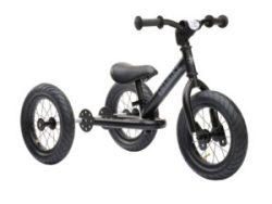 Trybike balance bike acier tricycle noir.Trybike bij stip-kinderfietsen. Trybike loopfiets staal driewieler, magasin de vélo pour enfants, kinderfietsenwinkel, Fahrradladen für Kinder