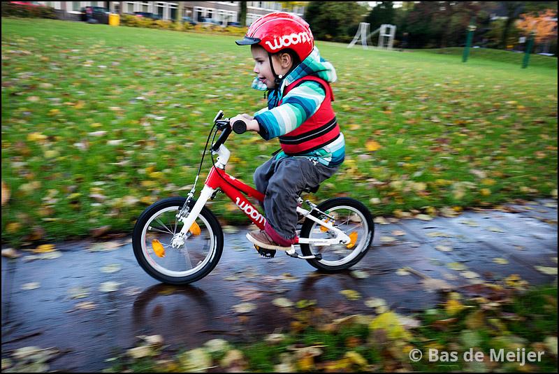 Op een Woom 2 kun je al fijn leren fietsen.