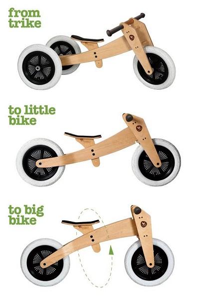 Wishbone Fahrrad bei Stip-kinderfietsen