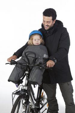 fietsslaapzakje bij Stip-kinderfietsen,magasin de vélo pour enfants, kinderfietsenwinkel, Fahrradladen für Kinder