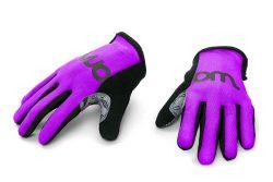 gants de cyclisme violet
