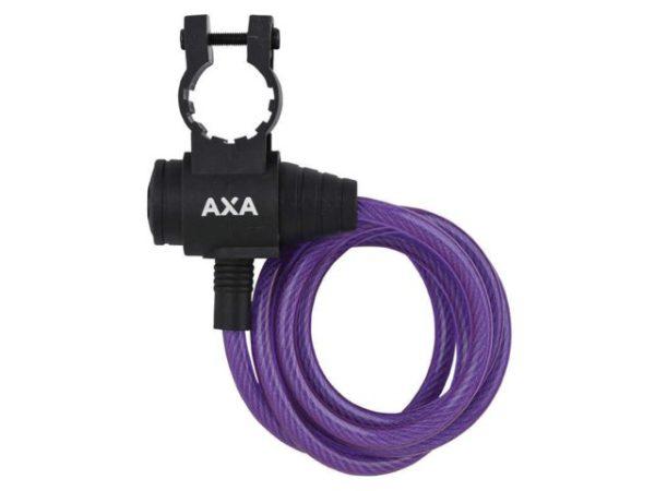 AXA OPROLSLOT ZIPP PAARS 120CM/8MM MET FRAMEHOUDER bij Stip-kinderfietsen