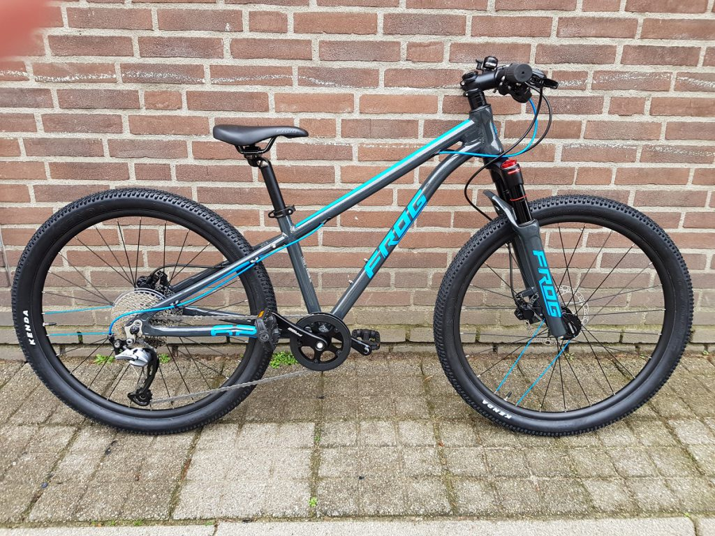 Frog bike MTB blauw maat 62 11,3kg
