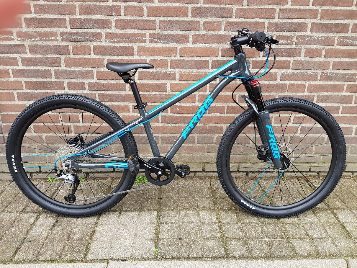 Frog bike VTT blue 62
