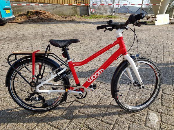 Woom bike, woom fiets, Woom stadsfiets bij Stip-kinderfietsen, 20 inch