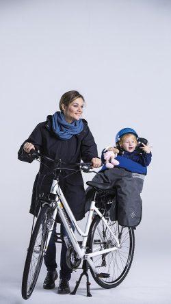 Fahrradschlafsack warm trocken vorne hinten Sitze beo Stip-kinderfietsen