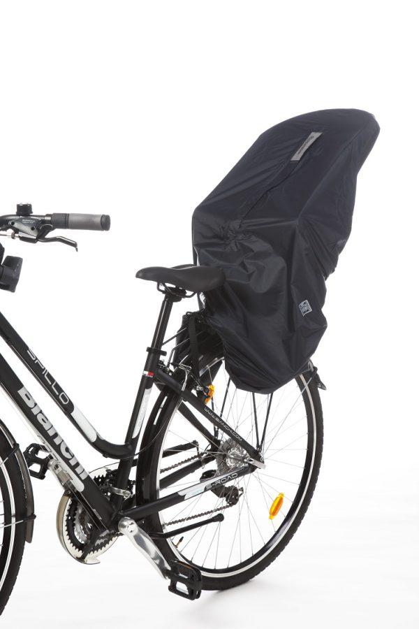 Fahrradschlafsack warm trocken vorne hinten Sitze