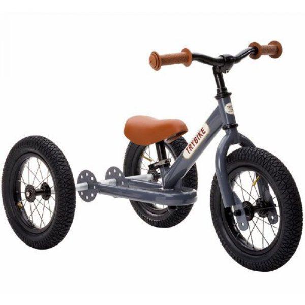 trybike-steel-2-in-1-loopfiets-grijs--bruin