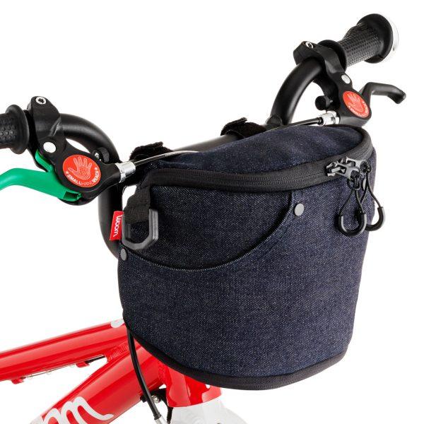 stuurtasje van Woom bij Stip-kinderfietsen