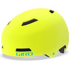 Giro Helm Dime FS Mattgelb XS, Kopfumfang 47-51cm Mips