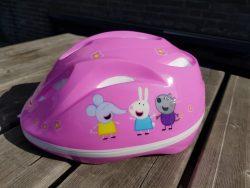 peppa pig fietshelm